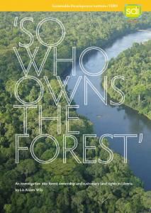 So Who Owns the Forest?